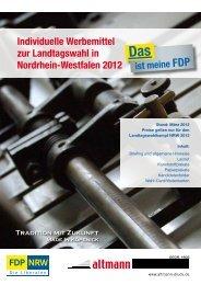 Fax: 030 - 657 12 26 e-mail: jp@altmann-druck.de - FDP NRW