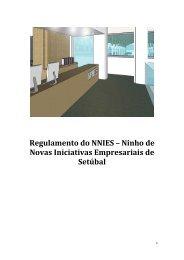 Regulamento do NNIES – Ninho de Novas Iniciativas Empresariais ...