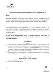 CONTRATO DE CONCESSÃO DO USO PRIVATIVO DE ESPAÇO ...
