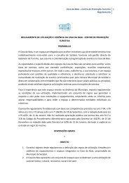 Casa da Baia – Centro de Promoção Turística Regulamento 1 ...