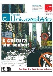 É cultura - Mundo Universitário