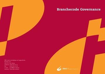 Branchecode Governance - Vereniging Hogescholen