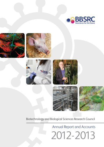 Biotechnology and Biological Sciences Research Council Annual ...