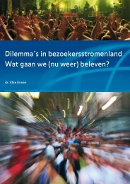 Download Dilemma's in bezoekersstromenland - Nhtv