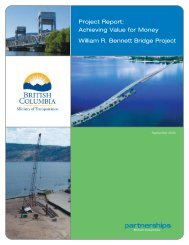 Project Report - Partnerships British Columbia