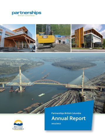 Partnerships British Columbia Annual Report, 2011/2012