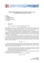 mars 2007 - Association française de l'hydrogène