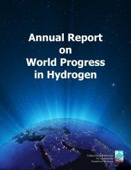 Annual Report on World Progress in Hydrogen - Association ...