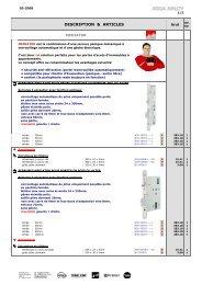 tarif Mediator 03-2008 - ASSA ABLOY