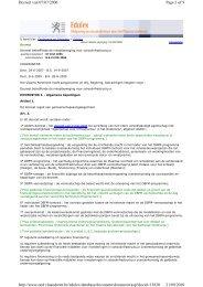 decreet van 07/07/2006 - inhaalbeweging voor ... - ASSA ABLOY