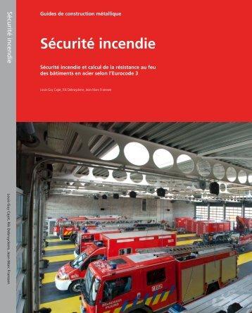 Sécurité incendie - Infosteel