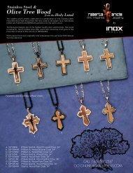Olive Tree Wood - Inox Jewelry