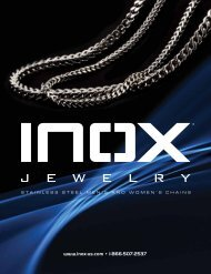 Inox Fall Necklace 2010 Catalog - Inox Jewelry