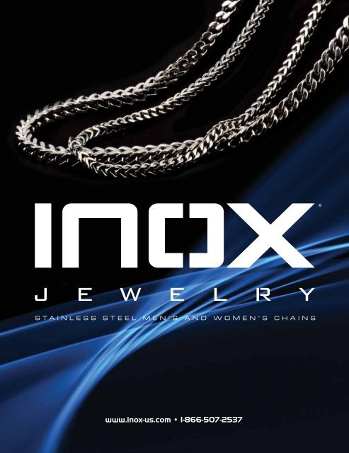 Inox Fall Necklace 2010 Catalog - Inox Jewelry