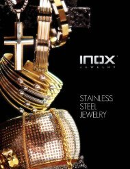 Live - Every moment - Inox Jewelry
