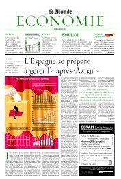 Mardi 2 mars 2004 - Le Monde