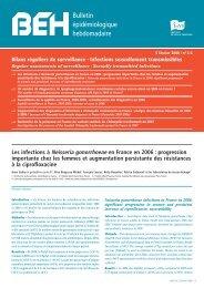 Bulletin épidémiologique hebdomadaire - Le Monde