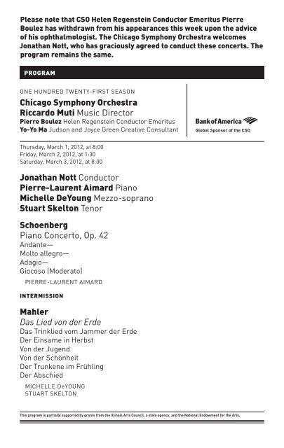 Mahler - Chicago Symphony Orchestra