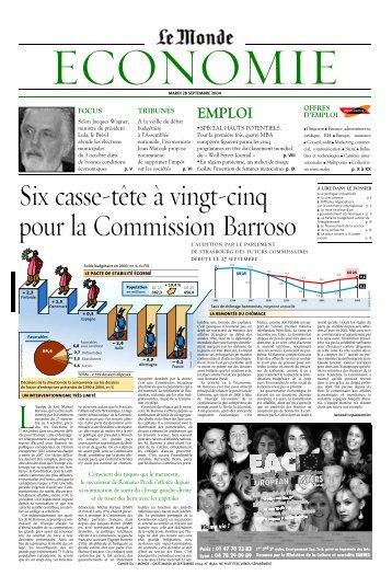 EMPLOI - Le Monde