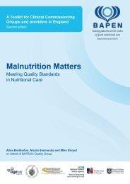 to read the full report (PDF) - BAPEN