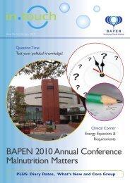 Download in PDF format - BAPEN