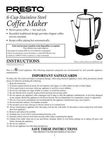 Gevalia Coffee Maker User Manual : Notch Wedge Joint Maker Instruction Manuala