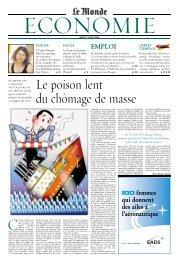 MARDI 1er JUILLET 2003 - Le Monde