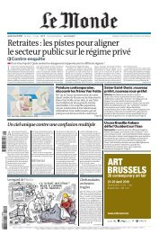 Retraites:lespistespouraligner ... - Le Monde