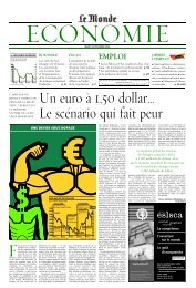 Mardi 16 décembre 2003 - Le Monde