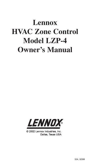 Lennox ecb24-20cb-3p manual