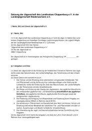 Satzung JS 2010 - Jägerschaft Cloppenburg
