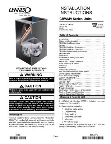 Harmony iii zoning system installation manual lennox for Lennox program