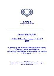 the full report (PDF) - BAPEN