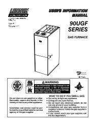 90UGF series - Lennox