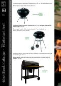 Houtskoolbarbecue - Barbecue bois - Olympia Retail BV - Page 6