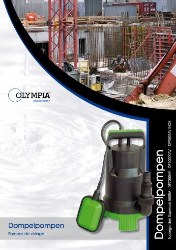 Dompelpompen - Olympia Retail BV