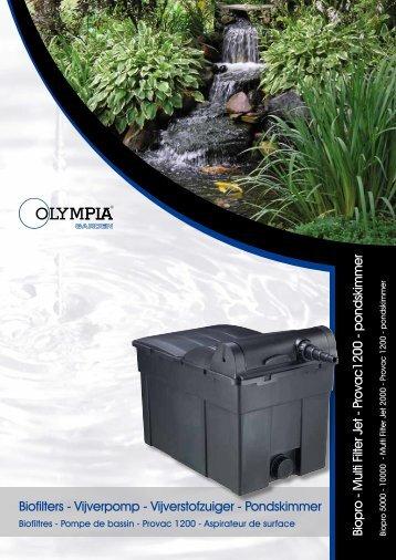 Pondskimmer - Olympia Retail BV