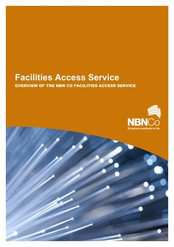 Facilities Access - NBN Co