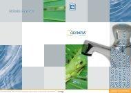 Z elfsluitende kranen Self-closing faucets R ... - Olympia Retail BV
