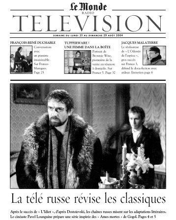 television - Le Monde