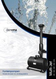 Fonteinpompen - Olympia Retail BV