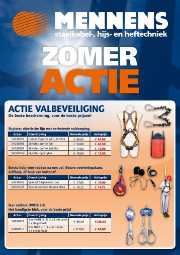Download Zomeractie 2013 folder - Mennens