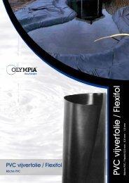 PVC vijverfolie / Flexifol - Olympia Retail BV