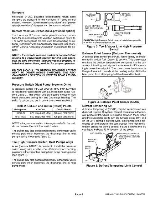 Zone Damper Wiring Diagram Lennox. . Wiring Diagram on