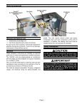 15GCSX Packaged Unit Installation Manual - Lennox - Page 3