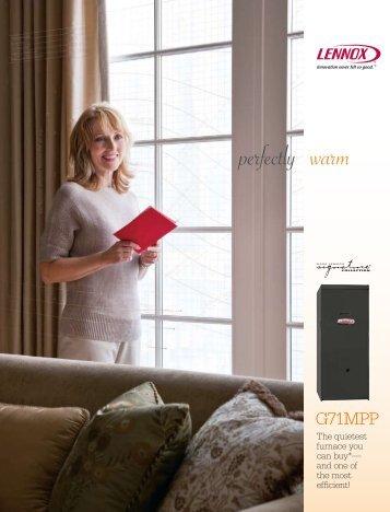 G71MPP Gas Furnace Product Brochure - Lennox