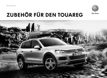 Zubehör für den Touareg. Die Preisliste. - Volkswagen Zubehör