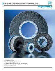 M-BRAD™ Abrasive Filament Power Brushes - Pferd