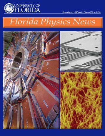 Florida Physics News - Department of Physics - University of Florida