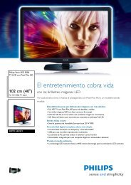 40PFL5605D/77 Philips TV LCD con Pixel Plus HD